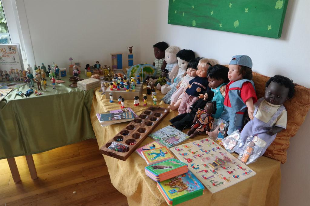 Interkulturelles Spielzimmer